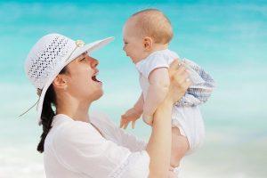 voyager à la plage avec bébé